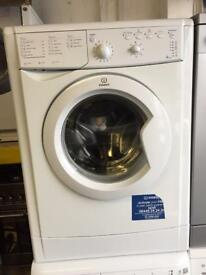 Indesit white good looking 7kg 1200spin Aclass washing machine