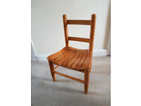 Childs desk chair