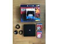 PS4 Complete Set: Controller/Games/Cables