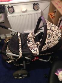 Pram, used but good condition
