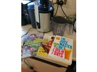 Philips Juicer And books