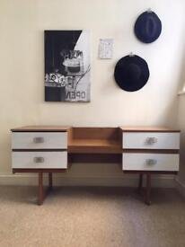 Mid century /vintage / retro sideboard or dressing table with drawers