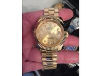 Rolex date just SWEEPING HAND CAN POST