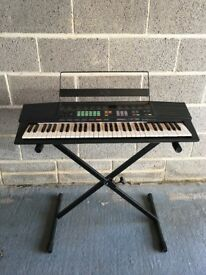 Yamaha Keyboard PSR-38 with stand and carry case