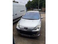 307 face lift spares and repairs 1.6 hdi