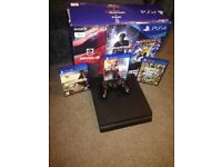 PlayStation 4 slim 1tb like new in box, ps4