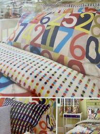NEW - Harlequin children single bedding