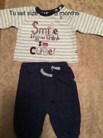 Used baby boys clothes