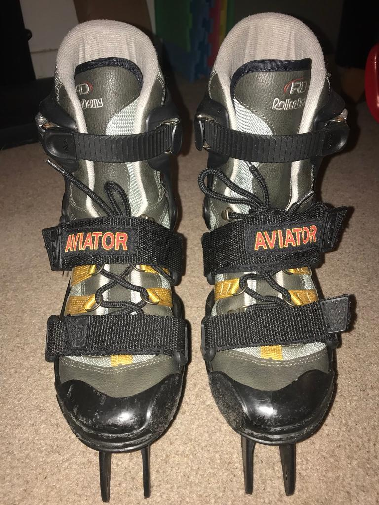 RollerDerby Aviator Rollerblade boots