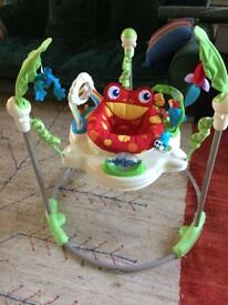 Jumperoo Jungle- excellent condition.