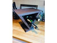 Wooden Triangle Wine Rack