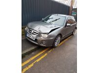 MG ZR - Breaking Spares and repairs - Been in a crash