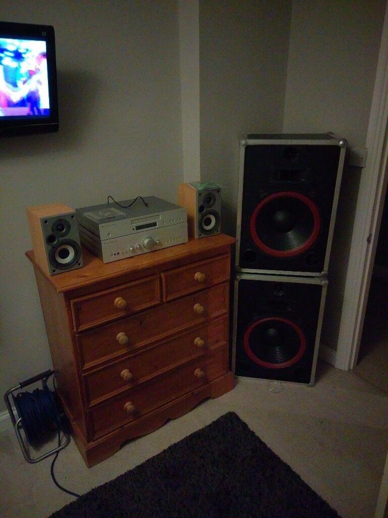 Disco/dj speakers