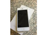 iPhone 5 boxed. White 16GB unlocked