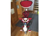 Smartrike Red 4 in 1 trike