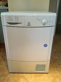 Indesit IDC85 Condenser Dryer For Sale very good condition brilliant for bedding and large loads