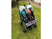 Cosatto Supa Dupa Twin Pushchair