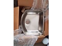 Undermount Stainless Steel Single Bowl D Shape Kitchen Sink 1.2mm thickness