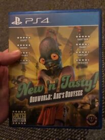 Odd world: Abe's Oddysee New 'n' Tasty! PS4