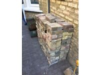 Reclaimed bricks London stock ( x225no.)