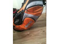 Hippo golf bag great condition