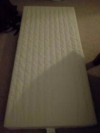 IKEA Vyssa Snosa cot mattress