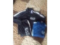 Mens EA7 zip tracksuits!! (MOES clothing)!! Wholesale only..