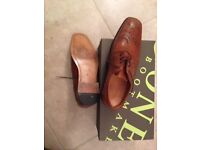 Tan brogues size 7. As new