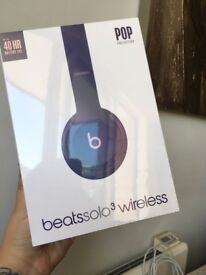 Beats Solo3 Wireless On-Ear Headphones - Pop Violet