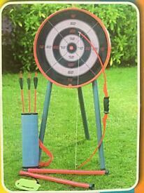 Archery. Toys.