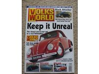 VINTAGE VOLKSWORLD MAGAZINES FROM 1990'S