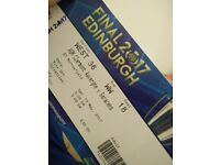 Champions cup tickets clermont v saracens *less than face value*