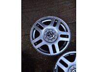 4 x VW Golf wheels 16 inch Alloys