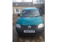 Vow caddy van 05 plate, in good condition for year , 8 months mot