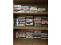 Lots of dvds mostly chick flicks