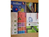 AS/ A -level Edexcel Geography practice books