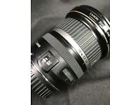 Canon 10-22 mm lens EF-S f3.5-f4.5 USM Ultra Wide Angle