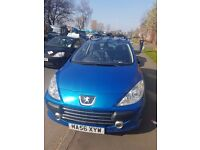 peugeot 307 for sale 1700 48kmiles