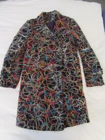 Joe Browns yarn coat size 14