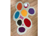 Brink and Campman Multi Color Funky Kid Children Rug Play Room John Lewis
