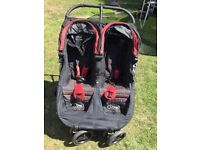 Baby city jogger double pushchair