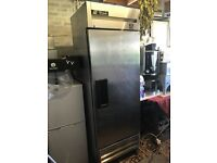 True Refrigeration Stainless Steel Fridge