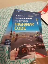 Theory test + highway code book