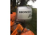 Honda 75 outboard engine