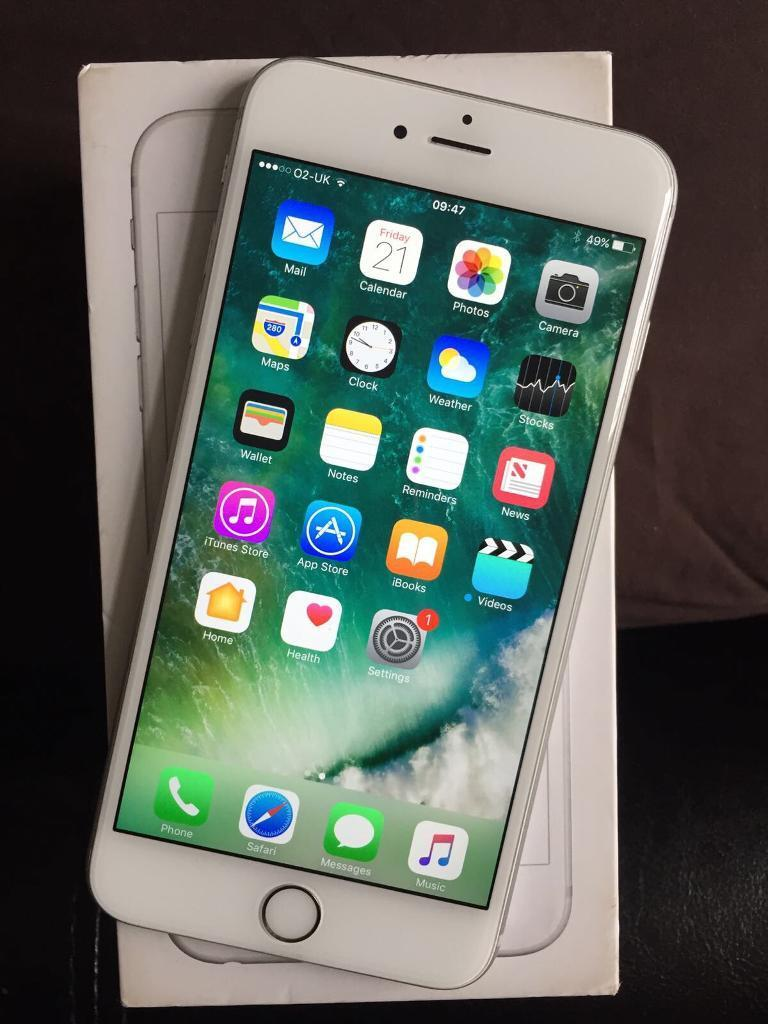 iPhone 6S Plus 02GiffgaffTesco 16GB Silverin Luton, BedfordshireGumtree - iPhone 6S Plus 02 Network Used with a Tesco sim Silver 16GB Some light scratches on screen Box with charger Can deliver £300