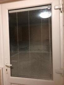 Door and window built in integral blinds