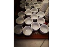 21 x white olympia ramekin dishes 80mm