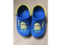 Minion shoes crocs sandals