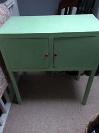 Cupboard vintage green