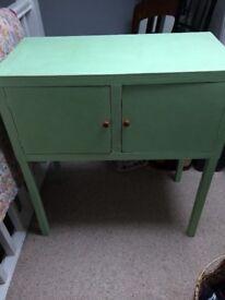 Cupboard vintage green